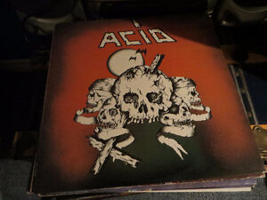 Import 80's heavy Metal LP.. ACID