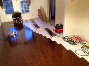 Laminate,Hardwood,Vinyl ,Engineer Floor Installation services