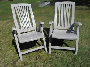 Adjustable Patio Chairs