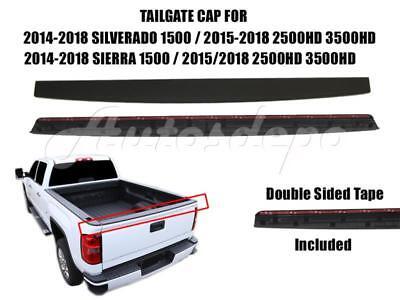 Tailgate Molding Trim Cap Protector For Silverado 1500 2500HD 3500HD 2015-2018 1500 Hd Tailgate Cap