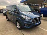 2019 Ford Transit Custom 2.0 EcoBlue 130ps Low Roof Limited Van PANEL VAN Diesel