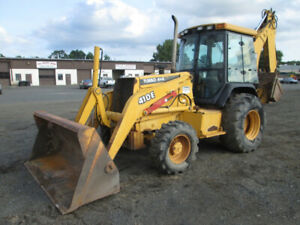 Backhoe In Good Condition