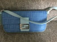 Fendi clutch bag