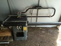 3hp Rockwell Industrial Table Saw
