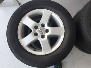 Michelin Tires on Toyota Alloy Rims