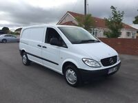 Mercedes vito 109 cdi compact, 2008 (08) reg, 1 co owner, tested, fsh, 100k, in white