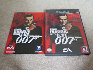 Nintendo Gamecube From Russia With Love James Bond 007 Game London Ontario image 1