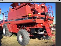 CASE IH 2388 2006 2229 ENG HOURS CLEAN COMBINES One left