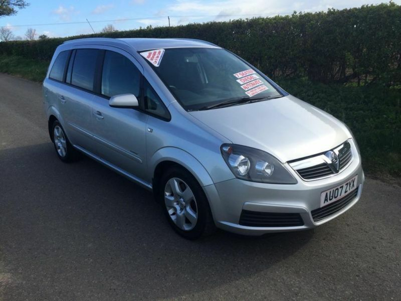 2007 vauxhall zafira 1 9 cdti energy 5dr in blofield. Black Bedroom Furniture Sets. Home Design Ideas