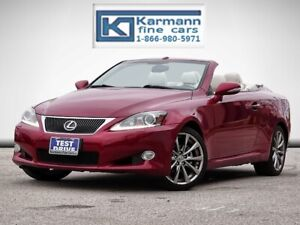2013 Lexus IS 250C Convertible|Navi|Leather|Back Up Cam|Cooled S