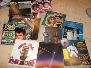33 tours des années '60, '70 et '80