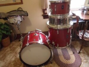 Vintage Olympic Drums