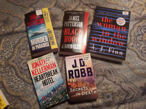 Patterson, Kellerman, Robb and Finn Books
