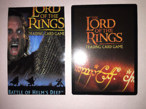 Lord of the Rings Cards , Chaotic Cards & Such