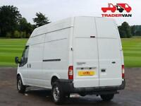 13 FORD TRANSIT T350 125ps Long Wheel Base RWD High Roof Panel Van DIESEL MANUA