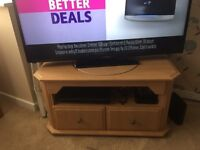TV unit with turntable & matching coffee table