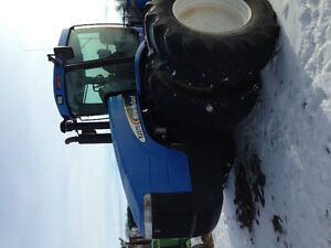 New holland tj 375 4wd tractor