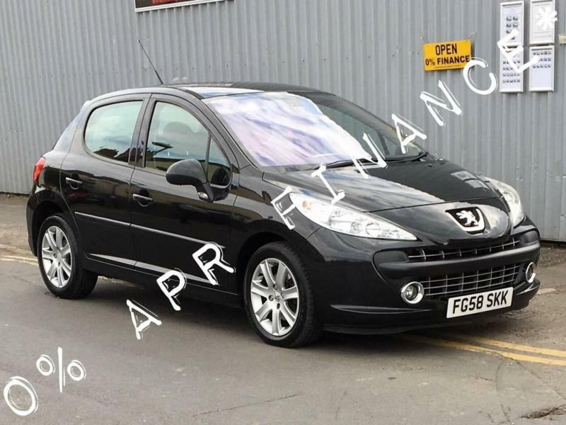 2008 PEUGEOT 207 1.6 HDi 110 Sport 5dr 0 finance offer on this car ...