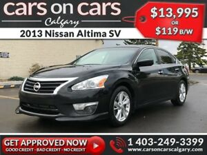 2013 Nissan Altima SV w/Heated Seats, Sunroof, USB Connect $119