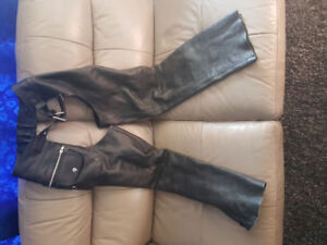 Leather Chaps size small