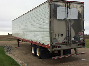 2000 48 foot insulated reefer trailer