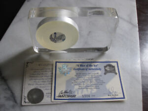"""""""Slice of the Ice"""" NHL last game Maple Leaf Gardens Collectible"""