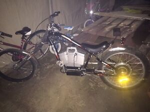 E-bike chopper. Runs great. Cost $999 new. Steal @$280