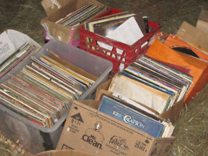 LP's records approx. 700 records