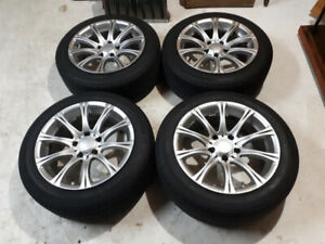 Bmw 535   rims and 4 michelin tires
