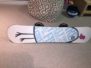 Firefly snowboard combo with K2 boots and K2 bindings London Ontario image 4