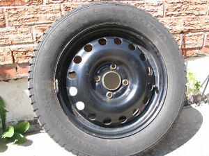 "4 Altimax Artic General 15"" Snow Tires on Rims - 4 Bolt x 108"