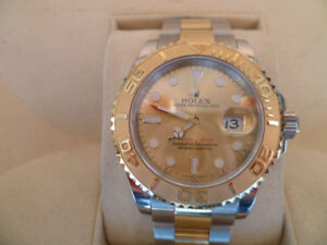 ROLEX YATCHMASTER 18K AND STAINLESS STEEL REF. 16623