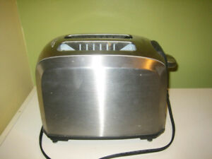 Black & Decker stainless wide slot toaster