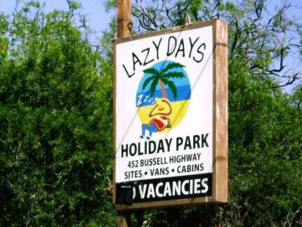Holiday accommodation in Busselton at Lazy Days Holiday Park