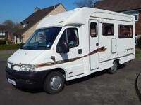 Autocruise STARSPIRIT, 2002, 2 Berth, Peugeot 2.0D, DEPOSIT NOW TAKEN!