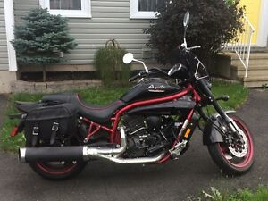 Or TRADE for QUAD/Hyosung GV650 Aquila 30th Anni. Edn Motorcycle