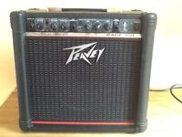 🎼 PEAVEY RAGE 158 amp 15 Watts great condition