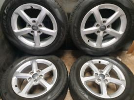 16 inch 5x112 genuine Audi Q3 alloy wheels