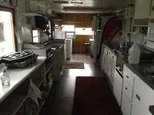 Food Trailer, superb condition. Has all appliances + soft serve London Ontario image 4