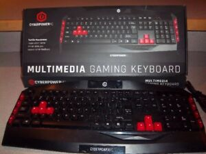 Multimedia Gaming Keyboard for Sale