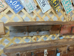 Rail Spike Barn Board Coat Rack London Ontario image 1