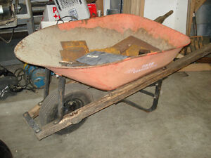 ERie - Contractor Wheelbarrow, Professional Quality