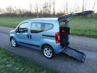 2012 Fiat Qubo Multijet Mylife 1.3, Diesel, Manual. WHEELCHAIR ACCESSIBLE WAV