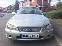 2002 Lexus IS200 4 Door Saloon ++12 MONTHS MOT++81000 MILES++