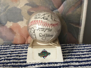 1992 TO Blue Jays World Series Signed Baseball