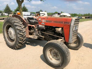 1985 Massey Ferguson 250 For Sale