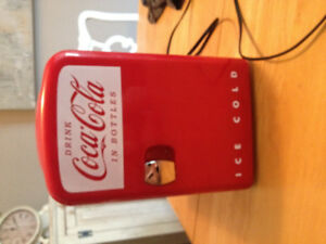 Coca Cola mini fridge - brand new!