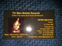 Tinman Mobile Recycle Depot