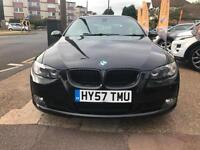 2007 57 BMW 320 2.0 SE CONVERTIBLE GOOD AND BAD CREDIT CAR FINANCE AVAILABLE