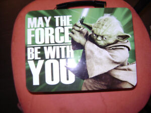 Limited edition Star Wars lunchbox/large tin tote